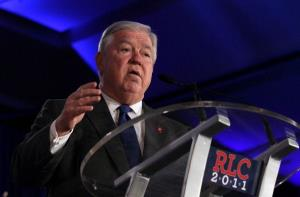 Former Mississippi Gov. Haley Barbour.