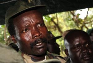 Leader of the Lord's Resistance Army, warlord Joseph Kony.