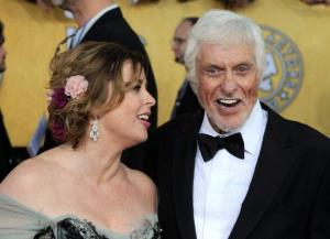 Arlene Silver and Dick Van Dyke arrive at the 18th Annual Screen Actors Guild Awards in January.