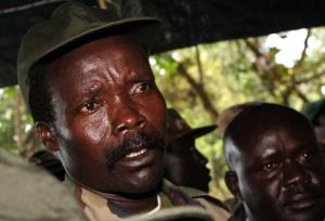 African warlord Joseph Kony answers journalists' questions on a the viral video Kony 2012.
