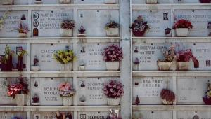 Falciano del Massico has no cemetery...