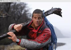 Grylls, 37, is famed for survival stunts like eating bugs and drinking his own urine.