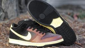 The offending shoe, officially named the SB DUNK Low.