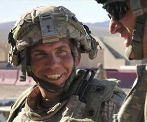 ISgt. Robert Bales takes part in exercises at the National Training Center at Fort Irwin, Calif in this file photo.