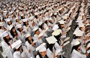 March is the month of graduation festivities nationwide in Philippines - if school officials don't spot racy Facebook photos.