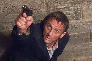 In this undated film publicity image released by Sony Pictures, Daniel Craig portrays James Bond in a scene from  Quantum of Solace.