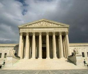 The US Supreme Court Building is seen in this March 31, 2012 photo on Capitol Hill.
