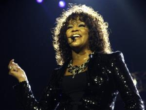 Whitney Houston in 2010.