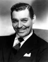 Clark Gable died of a heart attack before his only son was born.