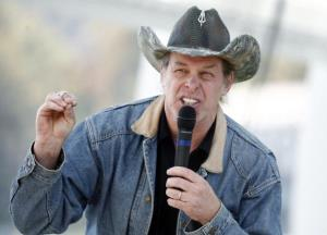 Ted Nugent speaks in a 2010 file photo.