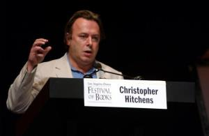 Late writer Christopher Hitchens from 2004, participating in a panel discussion ('U.S. and Iraq One Year Later : Right to Get In? Wrong to Get Out?') at the 9th Annual LA Times Festival of Books.