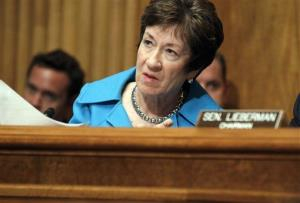 Sen. Susan Collins, R-Maine, ranking member of the Homeland Security Committee, thinks the Secret Service could use a few good women.