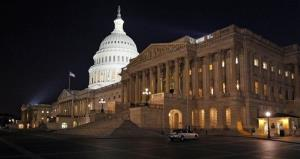The Capitol Building is seen the night of April 7, 2011, at a time when lawmakers were frantically negotiating to avoid a government shutdown.