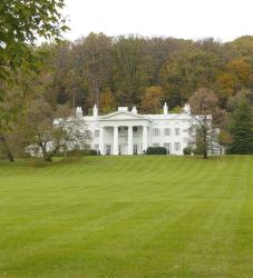 In this photo released by the Loudoun County Visitors Association, Morven Park near Leesburg, Va., is shown.