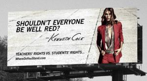 An ad campaign that sparked the ire of US teachers.