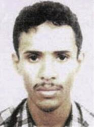 This file photo released by the FBI Thursday, May 15, 2003, shows Fahd al-Quso.