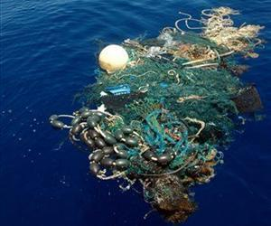This image provided by the Scripps Institution of Oceanography shows a patch of garbage in the Pacific Ocean on Aug. 11, 2009.