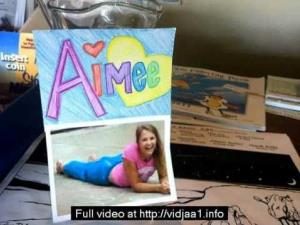 Aimee Copeland is featured on a homemade get-well card for the grad student who is fighting for her life.