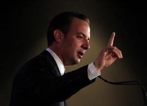 RNC Chair Reince Priebus speaks during the 2011 Republican Leadership Conference on June 18, 2011 in New Orleans.