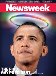 Newsweek tries to one-up Time with a controversial cover.