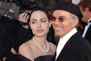 Angelina Jolie and Billy Bob Thornton attend the 59th Annual Golden Globe Awards at the Beverly Hilton Hotel January 20, 2002 in Beverly Hills, CA.