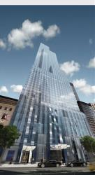 When completed, One57 will be among New York City's tallest residential buildings.