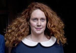 Rebekah Brooks leaves the High Court in London earlier this month.