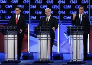 Former Republican presidential candidates Rick Santorum and Newt Gingrich have a bit of a hole to dig out of.