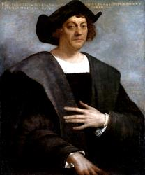 Christopher Columbus: seeking a new land for his people?