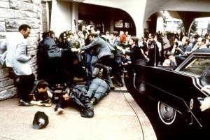 The blood was supposedly drawn after the March 30, 1981, assassination attempt on then US president Ronald Reagan, after a conference outside the Hilton Hotel in Washington, DC.