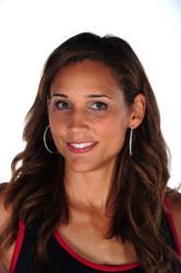 Track and field athlete Lolo Jones.