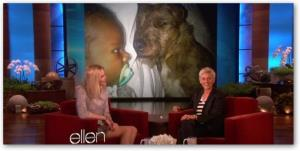 Charlize Theron appears on the 'Ellen DeGeneres Show.'