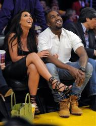 Kim Kardashian and Kanye West are totally in love. Can't you tell?