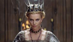 Charlize Theron in a scene from Snow White and the Huntsman.