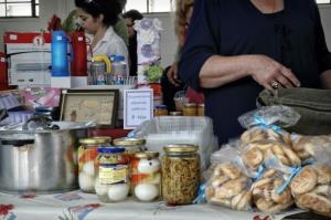 In the central Greek city of Volos, bartering has made a comeback.