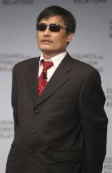 Chen Guangcheng speaks at the Council on Foreign Relations in New York on May 31.