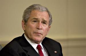 George W. Bush in 2008.
