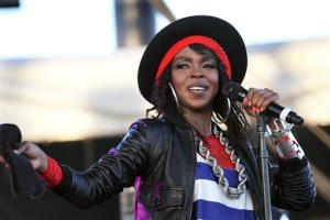 This 2011 photo shows singer Lauryn Hill performing during the Coachella Valley Music and Arts Festival in Indio, Calif.