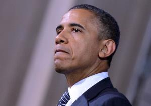 President Obama speaks during a campaign event at the Franklin Institute in Philadelphia yesterday.