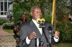 Uganda President Yoweri Museveni.