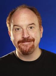In this Jan. 27, 2010 file photo, Louis CK poses for a portrait at the Gibson Guitar Lounge during the Sundance Film Festival in Park City, Utah.