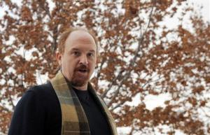 Comedian Louis CK poses for a photo at the premiere of his film at the Sundance Film Festival in Park City, Utah, Tuesday, Jan. 26, 2010.