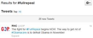 #FullRepeal in full effect.