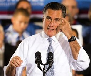 Mitt Romney addresses a campaign rally in Sterling, Virginia, June 27, 2012.