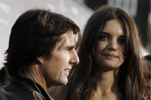 Tom Cruise and Katie Holmes in March of 2011.