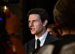 Tom Cruise attends The Friars Club and Friars Foundation Honor of Tom Cruise at The Waldorf=Astoria on June 12, 2012 in New York City.