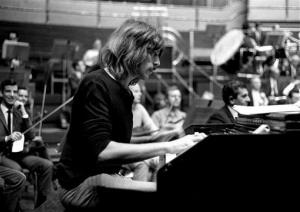 Jon Lord plays with Deep Purple in September, 1969.