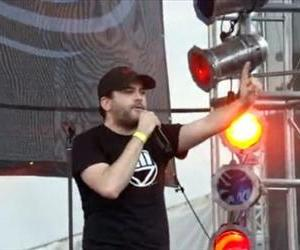 MC Chris performs in this YouTube screenshot from a different concert.