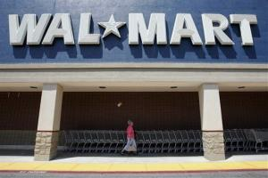 Exterior of Walmart in San Jose, Calif., Wednesday, Aug. 13, 2008.