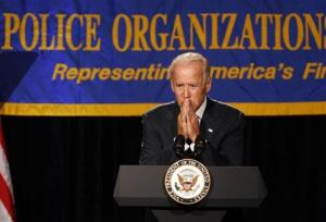 Vice President Joe Biden speaks at the annual convention of the National Association of Police Organizations in Florida this week.